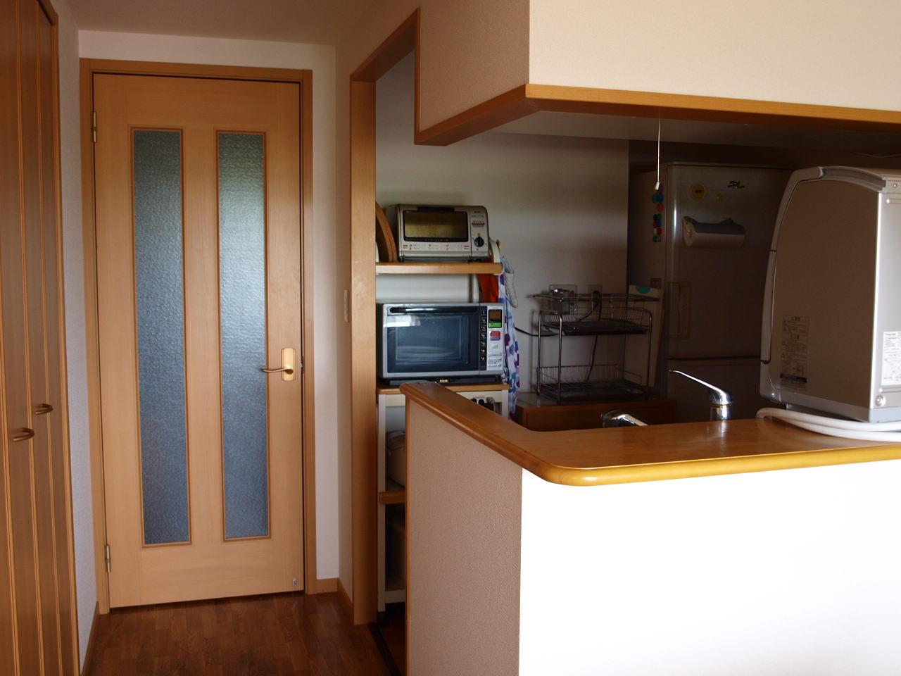我が家のキッチンお見せします ...